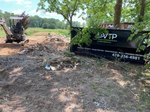 VTP Dumpster after demo